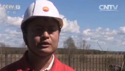 中国石油管道四公司额木尔河盾构工程项目经理张湘璞