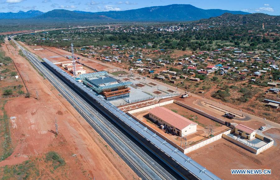 Chemin de fer Nairobi-Mombasa, nouveau symbole de la coopération sino-africaine