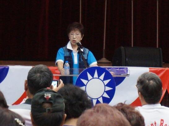 国民党主席选举政见会。