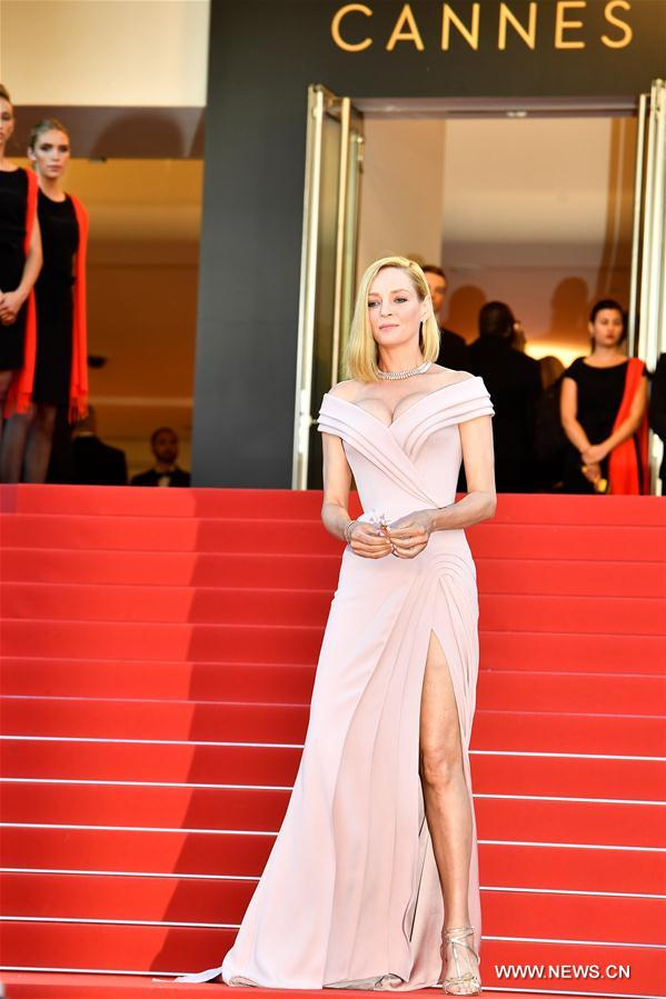 Ouverture officielle du 70e Festival de Cannes