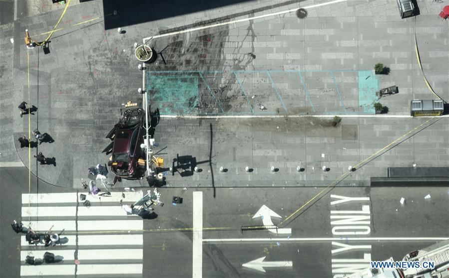 1 mort et 22 blessés dans un incident automobile sur Times Square, annonce le maire de New York