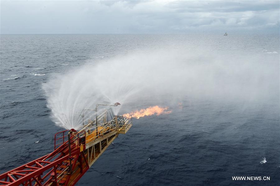 La Chine réussit à extraire de la glace combustible en mer de Chine méridionale