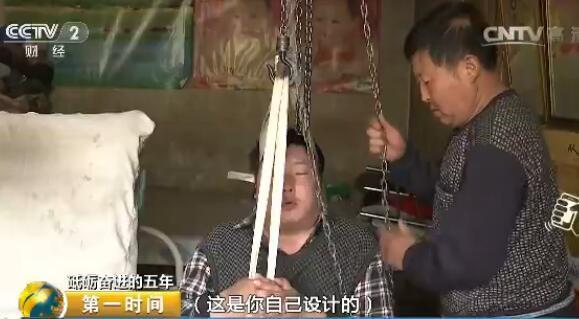 """【砥砺奋进的五年】精准扶贫记者手记:""""吊轮爸爸""""憧憬的新生活"""