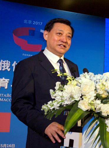 中方健康生活方式理事会主席梁玉师发言