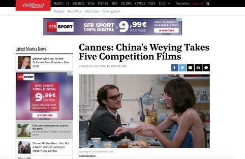 《无爱可诉》将进中国 微影时代戛纳购九部佳片
