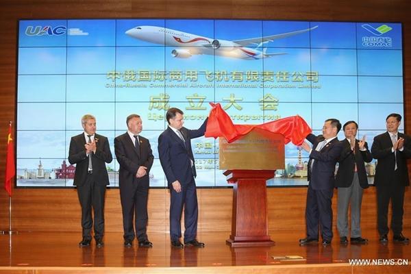 الصين وروسيا تبنيان طائرات ركاب واسعة