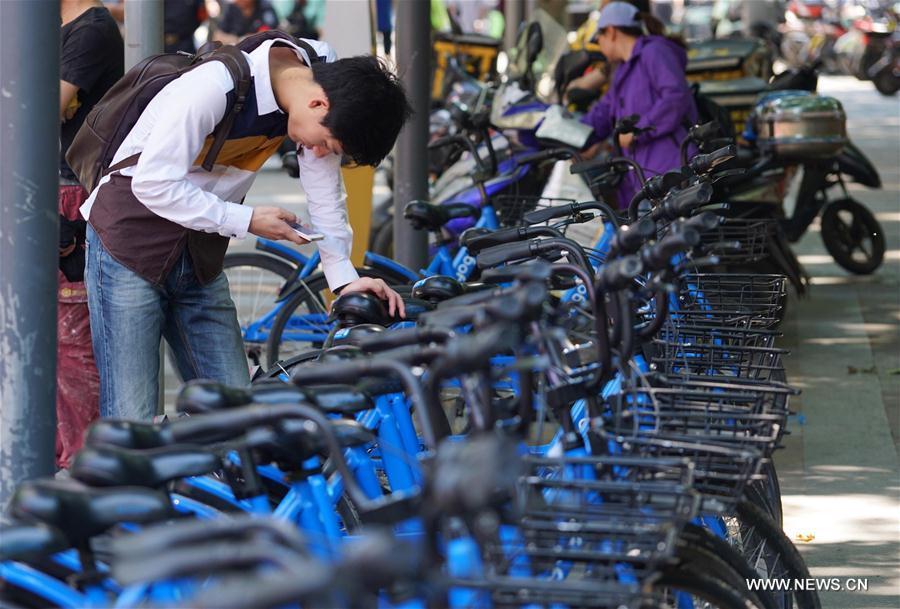 La Chine compte régulariser le secteur des vélos partagés