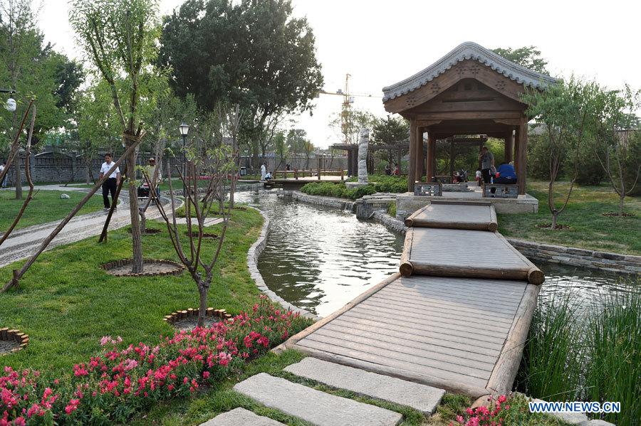 Un ruisseau vieux de plusieurs siècles traverse à nouveau le centre de Beijing