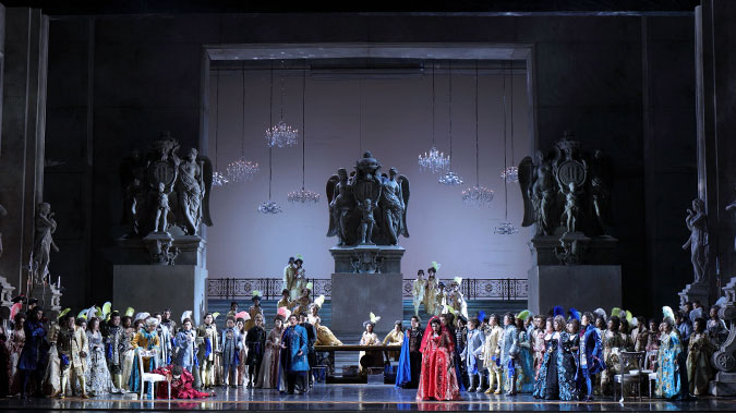 """该剧曾被媒体评为""""好似一部具有史诗感的18世纪欧洲风情大片""""王小京/摄"""