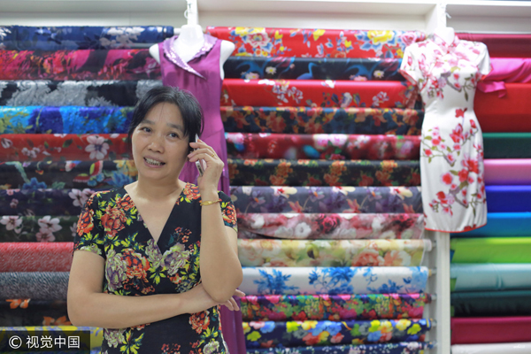 Le charme chinois et les amateures de qipao