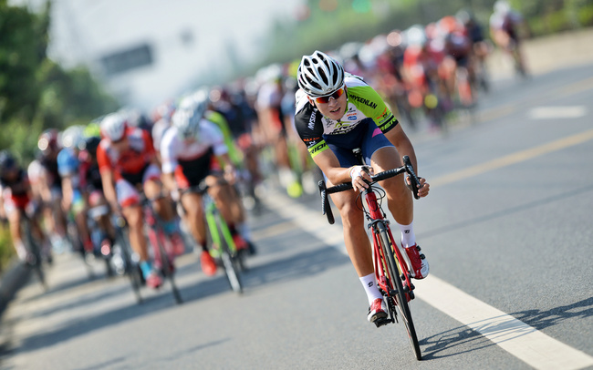 The 2017 Chinese Cycling League races kicked off on Friday in Mianzhu, southwest China