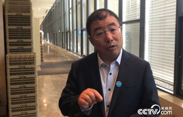 360企业安全集团董事长齐向东接受央视网记者专访
