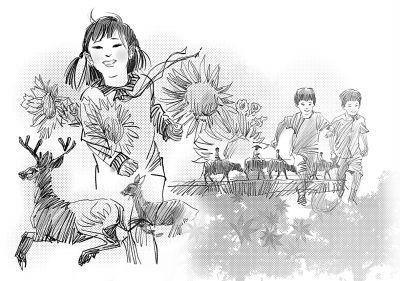 动漫 简笔画 卡通 漫画 手绘 头像 线稿 400_281