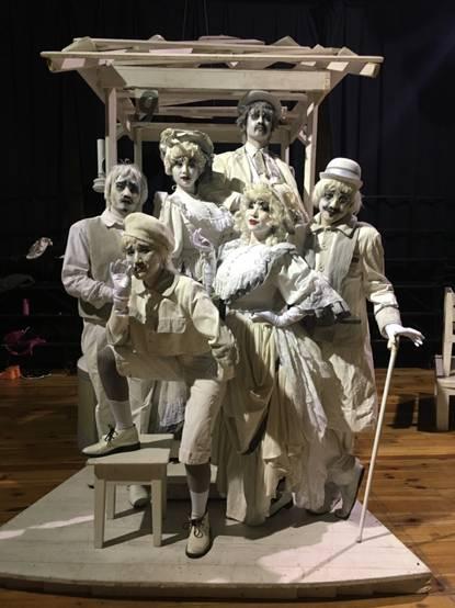 国际真人雕塑艺术节首现中国面孔