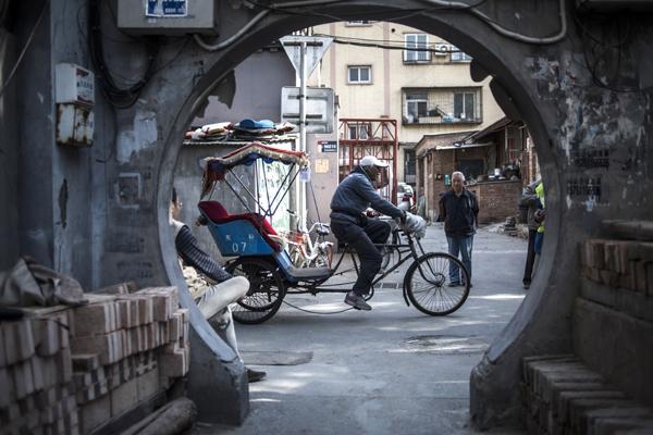 Pousse-pousse : prendre plaisir à faire du vélo !