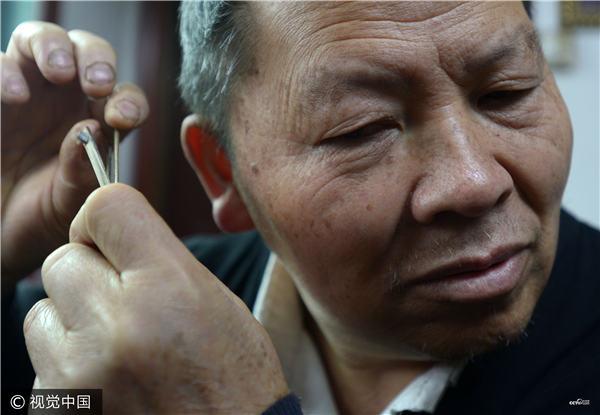 Lusheng, un instrument de musique chinois à vent à anche libre