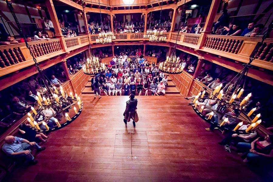 美国莎士比亚中心的黑弗利斯剧场