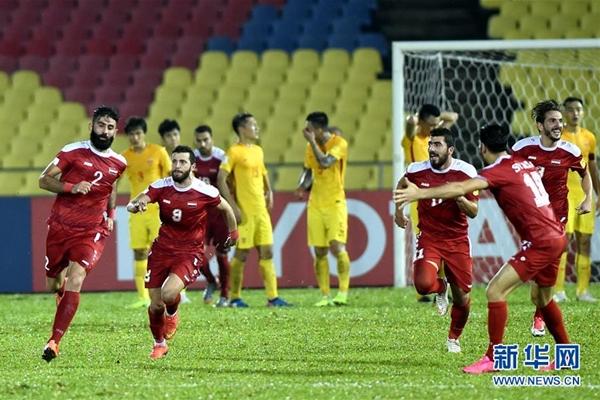 تصفيات كأس العالم.. الصين تتعادل مع سوريا في المباراة الحاسمة