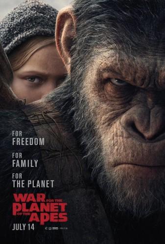 《猩球崛起3》海报