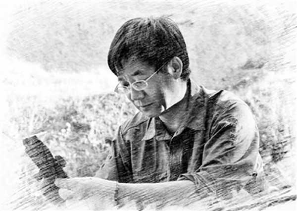 """张江永:与化石""""对话"""" 光阴穿梭千万年"""