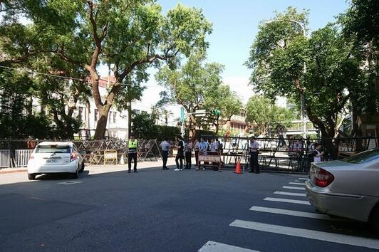 军公教团体再度动员赴台立法部门抗议
