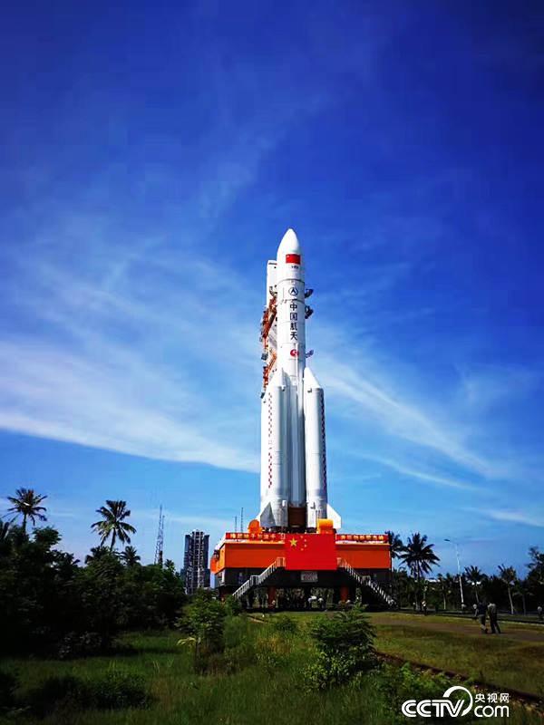 长征五号遥二火箭及实践十八号卫星将于7月初择机发射