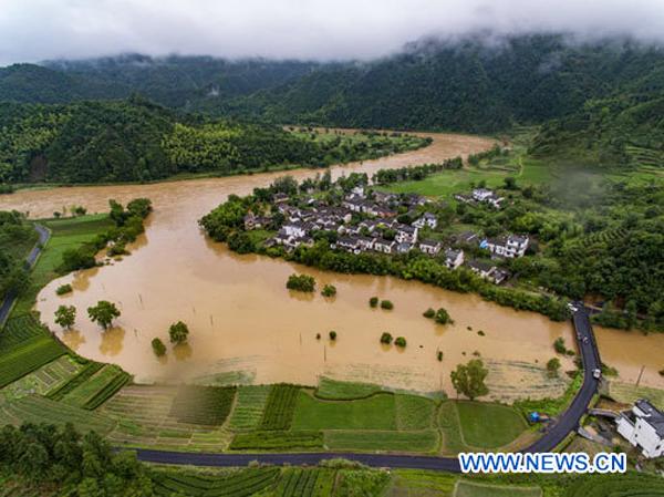Des pluies torrentielles affectent plus de 3,5 millions de personnes en Chine