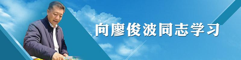 专题:向廖俊波同志学习