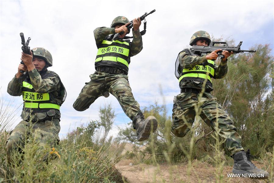 La Chine et le Kirghizistan organisent un exercice anti-terroriste au Xinjiang