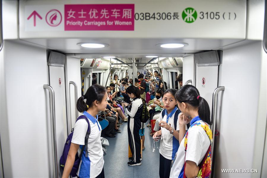 Chine : des voitures destinées en priorité aux femmes dans le métro de Shenzhen