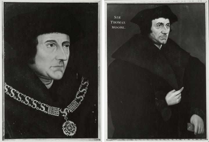 """两幅小汉斯·荷尔拜因,""""托马斯先生"""" 模仿品"""
