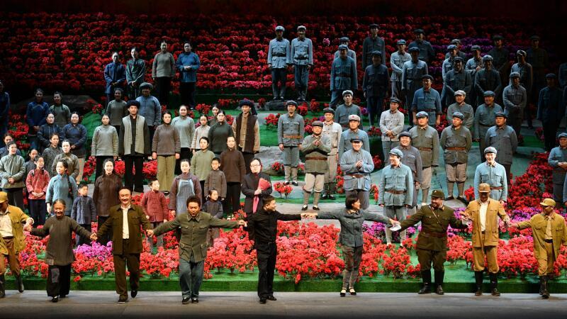 7月1日晚,国家大剧院原创歌剧《方志敏》献礼党的生日 凌风/摄