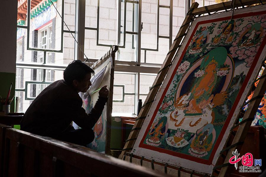 Héritage des peintres de Tangka