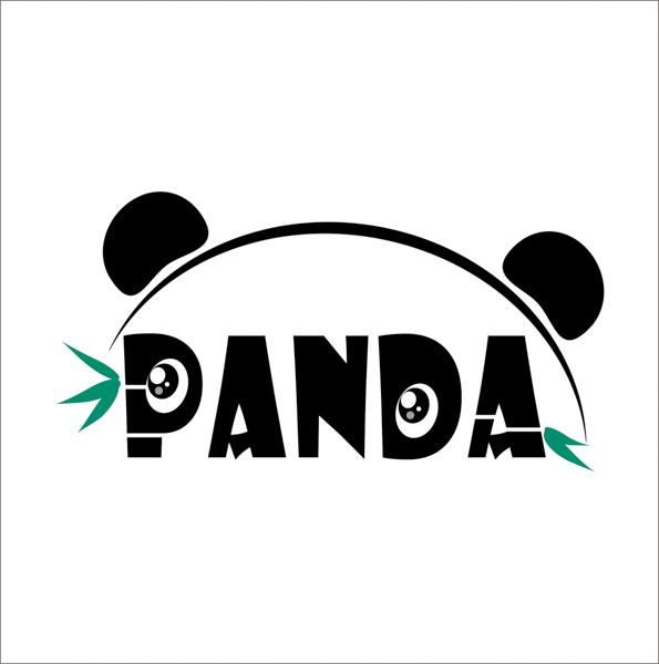 """""""2017年两岸学生大熊猫保育实习体验营""""logo,大熊猫icon设计创意图片"""