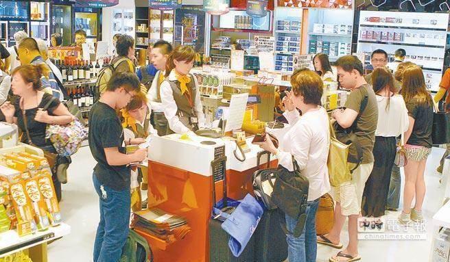 免税店是大陆游客出游的消费重点。