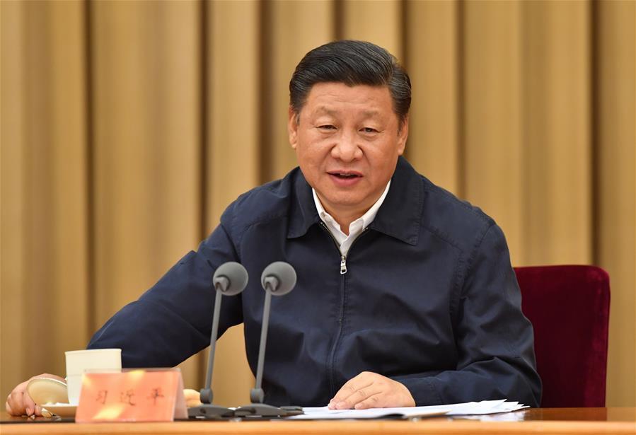 7月14日至15日,全国金融工作会议在北京举行。中共中央总书记、国家主席、中央军委主席习近平出席会议并发表重要讲话。新华社记者 李涛 摄