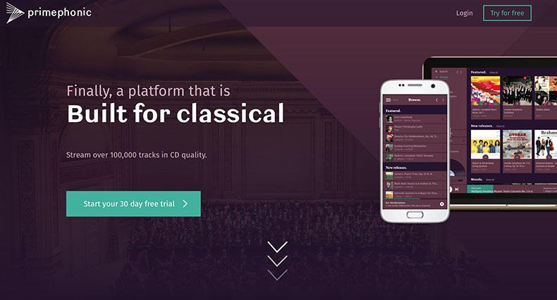 Primephonic公司发布古典音乐专属流媒体服务