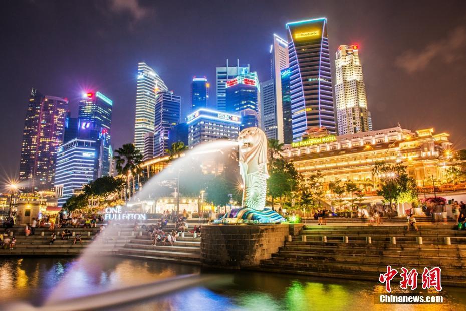 [组图]走进新加坡 看醉人夜色