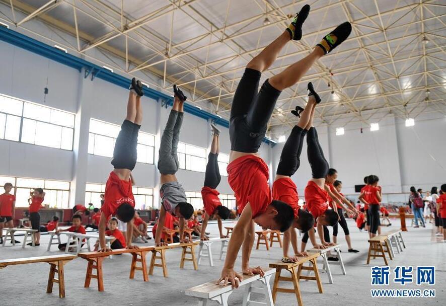 Arts acrobatiques: promouvoir un trésor culturel unique