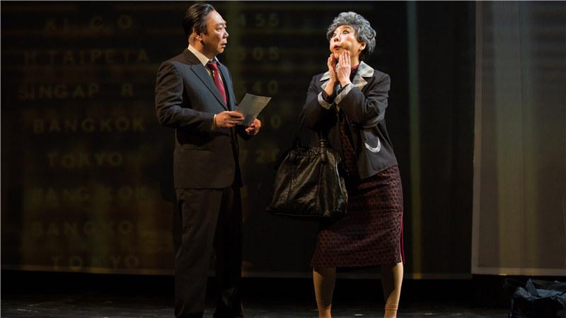"""担纲《接送情》主演的主演顾宝明与郎祖筠,二人是该剧中的""""全部演员"""""""
