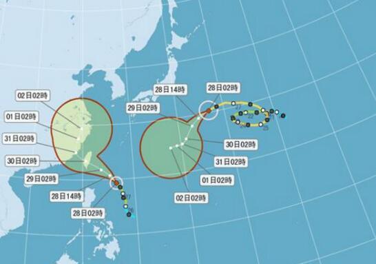 台风来了!台湾气象部门8:30发布轻台尼莎海警。