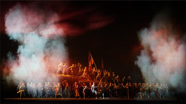 国家大剧院中国红色经典民族歌剧《金沙江畔》迎来首演王小京/摄
