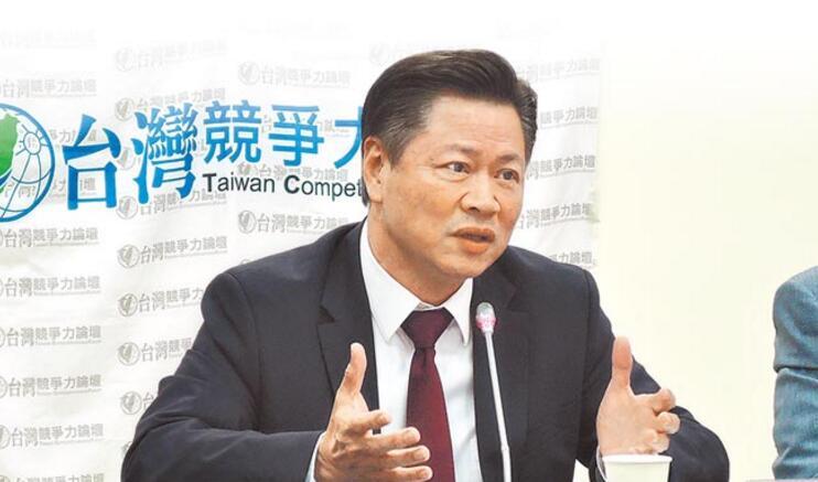 """台湾实践大学副教授赖岳谦呼吁吴敦义亲口说出""""我是中国人"""",为国民党两岸政策加分。"""