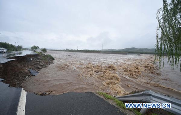 Chine : de fortes pluies provoquent de lourdes pertes dans le nord-est