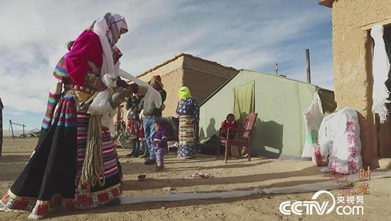 藏北草原深处的牧民