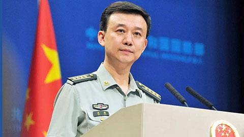 中国国防部新闻发言人吴谦