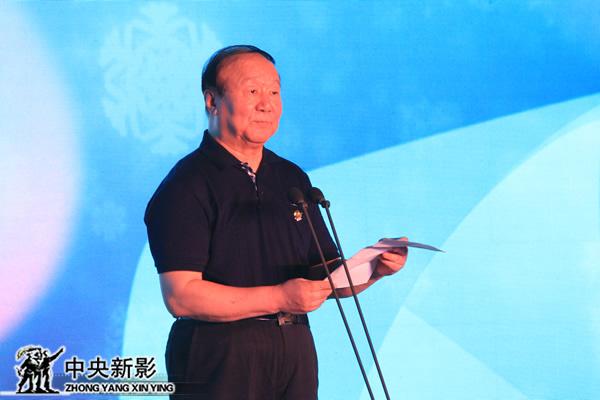 北京奥运城市发展促进会副会长蒋效愚致辞