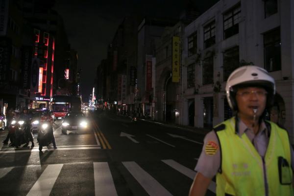 8月15日,台湾大停电。