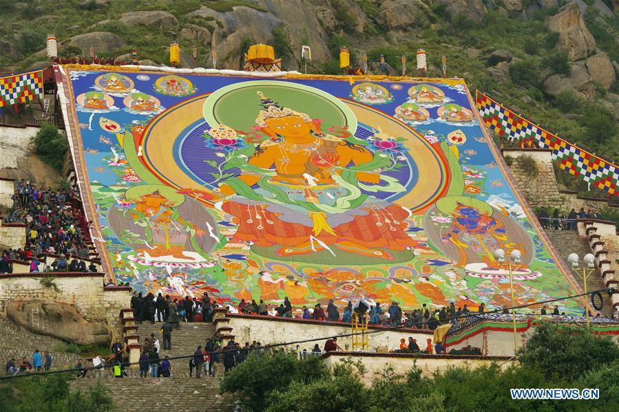 Chine : Lhassa célèbre le festival du Shoton