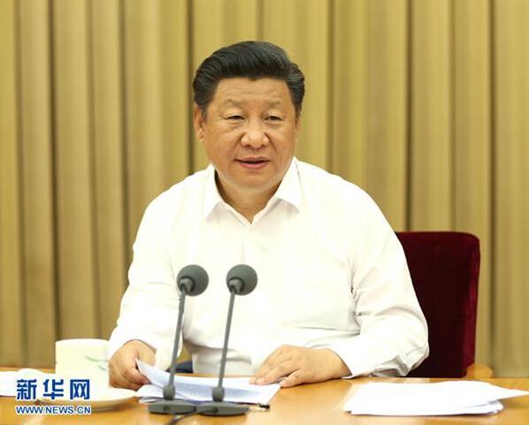 2016年8月19日至20日,全国卫生与健康大会在北京举行。中共中央总书记、国家主席、中央军委主席习近平出席会议并发表重要讲话。新华社记者 马占成 摄